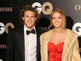 Diego Forlán y Zaira Nara se casan
