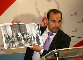 Bellido muestra las fotos de la supuesta 'fiesta privada'