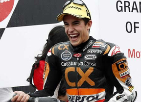 Márquez continúa asustando: se come a todos en los libres del Gran Premio de Italia
