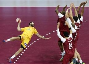 Los 'hispanos' sufren con el anfitrión Catar pero logran su cuarta victoria del Mundial (25-28)