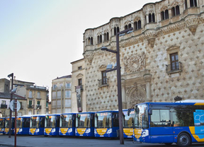 Los nuevos autobuses de Guadalajara funcionan con gas natural