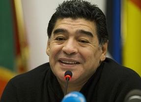 Maradona, un chavista convencido, adelanta que 'podría ser' el nuevo seleccionador de Venezuela
