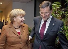 Rajoy, esta vez sin monitores, intentará ante Merkel hablar de crecimiento y no de sobres