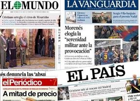 Resumen de prensa: Las rebajas, Cataluña y la pascua militar encabezan las portadas