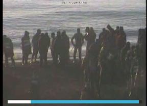 Interior cuelga en su web los vídeos entregados por la Guardia Civil a la juez sobre los sucesos en Ceuta