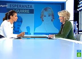 Aguirre, a Ana Pastor en 'La Sexta': vería bien cerrar Telemadrid porque es