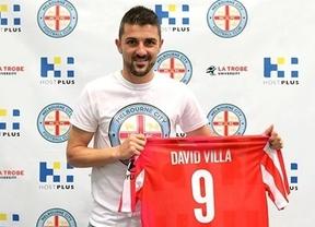 'Trotamundos' Villa, que dirá adiós a La Roja tras el mundial, jugará tres meses en Australia antes de hacerlo en Estados Unidos