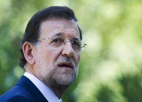 Rajoy le envió un mensaje a Merkel en su prensa antes de verla hoy