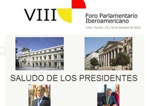 Posada y García Escudero, en el VIII Foro Parlamentario Iberoamericano de Cádiz