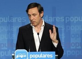 Hernando repite en Guadalajara el mensaje de Rajoy: