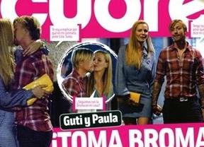 Guti y Paula Vázquez, algo más que amigos