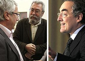 Rosell, Toxo y Méndez reivindican el diálogo social frente a una reforma laboral impuesta del Gobierno