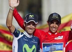 Contador y Valverde, gran duelo en la cumbre... de la clásica ciclista de Amorebieta