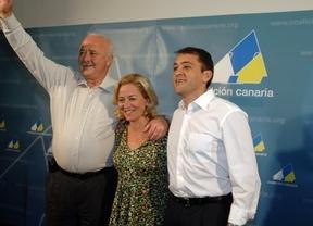 El PP rompe la barrera de los 7 diputados mientras PSOE y CC pinchan