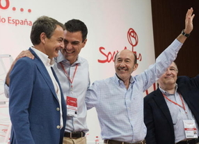 Sánchez quiere enmendar la reforma constitucional de Zapatero y este responde: