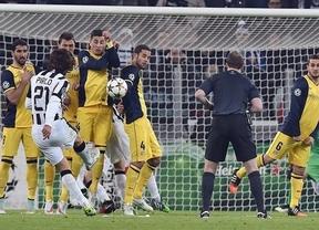 El Atlético, inasequible: saca en Turín el punto necesario para ser primero de su grupo de Champions (0-0)
