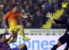 Messi sentencia la Liga: victoria del Barça y el Madrid, ya a 11 puntos de distancia (0-4)