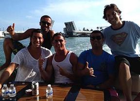 Cristiano Ronaldo estrena vacaciones luciendo músculos