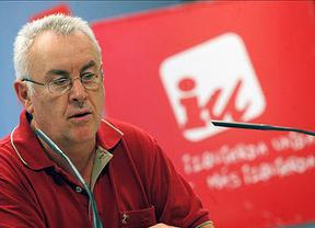 Cayo Lara dice que la candidatura unitaria de IU manda un 'mensaje de esperanza' para ser alternativa de gobierno