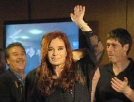Cristina recibió un contundente apoyo en su reelección