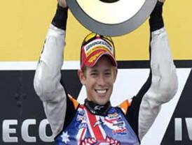 Casey Stoner, matemáticamente campeón en MotoGP