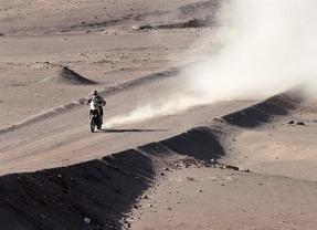 Coma recorta distancias con el líder Barreda en motos
