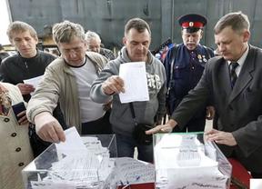 Baja la participación en Ucrania más de 6 puntos con respecto a los comicios de 2010