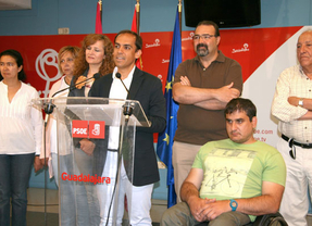 Jiménez (PSOE) hablará con el resto de partidos de Guadalajara para materializar 'el cambio de rumbo'