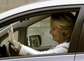 El incidente de Aguirre con la Policía madrileña queda en juicio de faltas