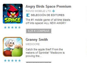 Las rebajas llegan a Google Play: libros, aplicaciones y películas desde 25 céntimos