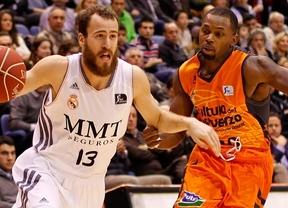 Los dos mejores equipos de la Liga copan el quinteto ideal de la ACB: Real Madrid 3 - Valencia 2