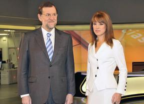 Rajoy, como Mas, tendrá esta noche su momento estelar en la televisión en horario de 'prime time'