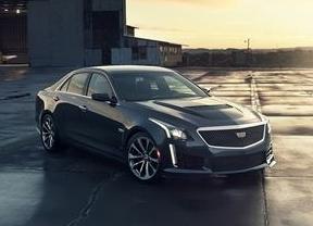 El nuevo Cadillac CTS-V, con 640 caballos, se lanzará en Europa en primavera de 2016