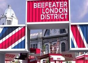 Aires londinenses con emprendedores en Beefeater London District