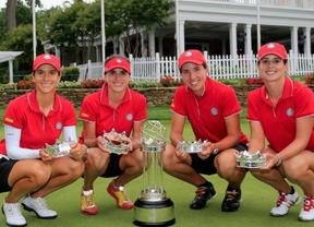 También chicas de oro en golf: el equipo femenino español gana el Mundial 'International Crown'