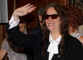 Ahora sí: Patti Smith actúa en Madrid tras el aplazar su concierto por el 14-N