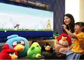 'Angry Birds' aterriza en las Smart TV de Samsung de España