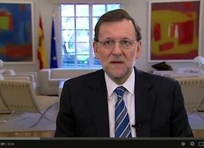 Rajoy lanza en video un mensaje sobre la conveniencia de mantener tal cual la Constitución Española