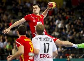 Los 'Hispanos' se pasean ante Macedonia y acceden a semifinales (22-33)