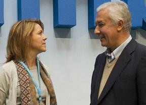 El PP desmiente un 'choque de trenes' Cospedal-Arenas