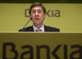 Goirigolzarri anuncia que Bankia ve posible pagar dividendo con cargo a los beneficios de 2014