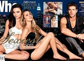 Miranda Kerr y Liam Hemsworth, elegidos los más sexys del año