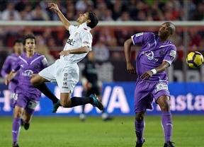 El Valladolid aprovecha el despite sevillista, que termina con su segunda derrota consecutiva (1-2)