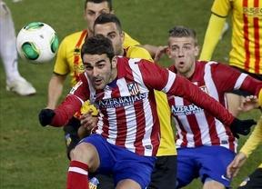 El Atleti se duerme ante el Sant Andreu pero los suplentes lo arreglan al final (2-1)