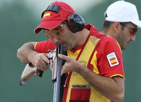 Más españoles que rozan la medalla: Jesús Serrano, quinto en tiro; Isaac Botella, sexto en salto