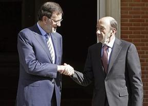 Pocos creen en la unión Rajoy-Rubalcaba: sólo algunos sectores de la prensa y los dos principales partidos