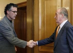Amaiur visitó al Rey con el empeño de negarse a condenar explícitamente a ETA