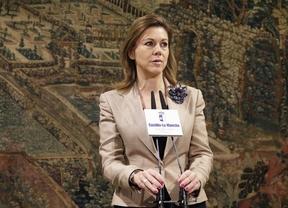 Cospedal defiende la constitucionalidad de la reforma electoral que reducirá las Cortes Regionales a 33 diputados