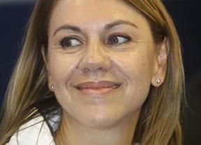 Una encuesta dice que Cospedal volvería a obtener mayoría absoluta... si las Cortes tuviesen 53 diputados