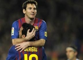 ¿Crisis, qué crisis? El Barça y Messi, con un triplete, vuelven a ser 'Súper' y le endosan una manita al Mallorca (5-0)